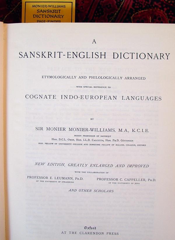 Monier-Williams - Sanskrita